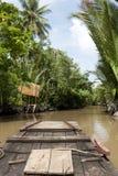 Mekong delta Vietnam Fotografering för Bildbyråer