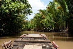 Mekong delta Vietnam Arkivbilder