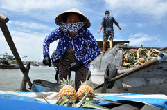 Mekong delta, Vietnam Royalty Free Stock Photo