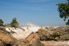 The Mekong falls stock photos