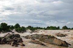 The Mekong falls Stock Photography