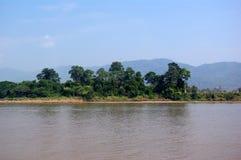 mekong flod Royaltyfri Foto