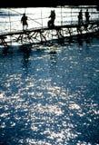 Mekong-Fluss Laos lizenzfreie stockbilder