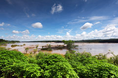 Mekong at Khong Chiam, Thailand Stock Photos