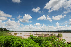 Mekong at Khong Chiam, Thailand Stock Image