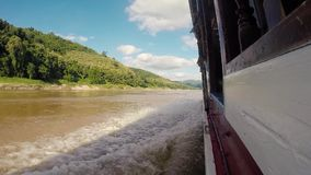 Mekong River stock video