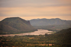 Mekong river. Mekong river in Loei province, Thailand Royalty Free Stock Photos