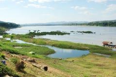 Mekong River Fotografering för Bildbyråer