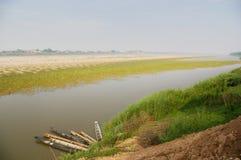 Mekong River Arkivfoto