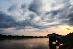 Mekong River Fotos de Stock Royalty Free
