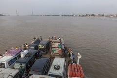 Mekong River Royaltyfri Fotografi