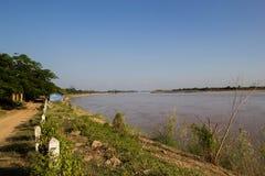 Mekong River Landscape royalty free stock photos