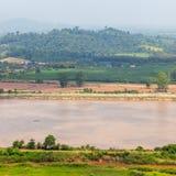 Mekong River beskådar Royaltyfria Foton