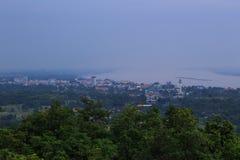 Mekong River border between thailand and laos Royalty Free Stock Photo