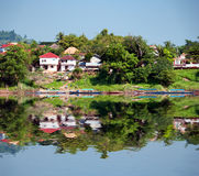 Mekong River Cruise in Laos Stock Photography