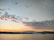 Mekong River em ChiangSan Chaing Rai Tailândia Imagens de Stock Royalty Free