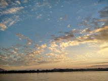 Mekong River em ChiangSan Chaing Rai Tailândia Imagem de Stock Royalty Free