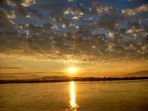 Mekong River em ChiangSan Chaing Rai Tailândia Fotografia de Stock