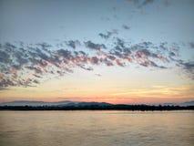 Mekong River em ChiangSan Chaing Rai Tailândia Fotografia de Stock Royalty Free