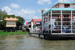 Mekong River Ferry Royalty Free Stock Photography
