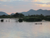 In the Mekong River. 4000 islands, Laos Royalty Free Stock Image