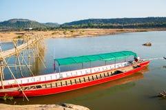 Mekong River landscape Stock Images