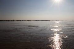 Mekong River Landscape royalty free stock image