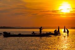 Mekong river, Laos Stock Image