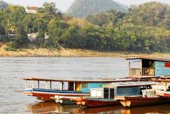 Mekong River, laos, Luang Prabang. Foto de Stock