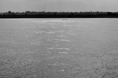 Mekong river at morning stock image