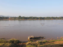 Mekong river Royalty Free Stock Images