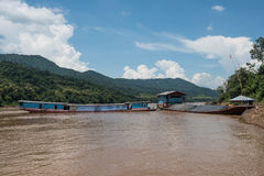 Mekong River Sightseen Royalty Free Stock Photos