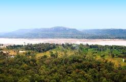 Mekong river at Thailand Royalty Free Stock Photography
