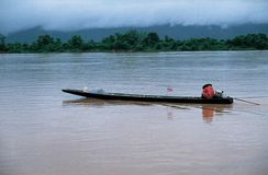 Mekong River, Thailand - Laos Royalty Free Stock Photo