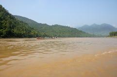 Mekong river Thailand-Laos Stock Image