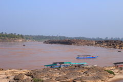 Mekong river. The Mekong is a trans-boundary river in Southeast Asia. It is the world's 12th-longest river stock image