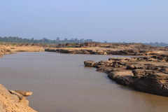 Mekong river. The Mekong is a trans-boundary river in Southeast Asia. It is the world's 12th-longest river stock photo