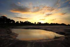 Mekong River Ubon Ratchathani Royaltyfri Bild