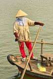 Mekong river in Viet nam is used to ferry goods and selling food.