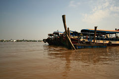 Mekong river,Vietnam. Stock Photography