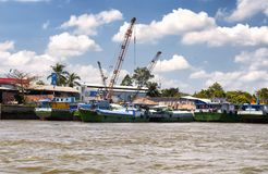 Mekong River Vietnam Southeast Asia Royalty Free Stock Photography
