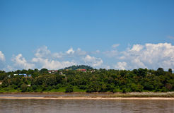 Mekong River view Royalty Free Stock Images