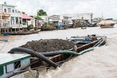 Mekong River View Royalty Free Stock Photography