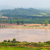 Mekong River view Royalty Free Stock Photos