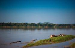 Mekong rivier. Royalty-vrije Stock Foto