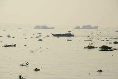 Mekong rivier Stock Foto