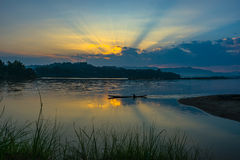 Mekong rivier Royalty-vrije Stock Fotografie
