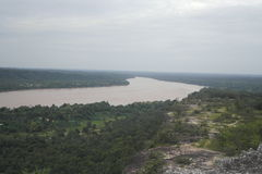 Mekong rivier Stock Fotografie