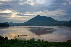 Mekong rivier Royalty-vrije Stock Afbeeldingen