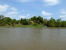 Mekong Rivier deltavietnam Royalty-vrije Stock Fotografie